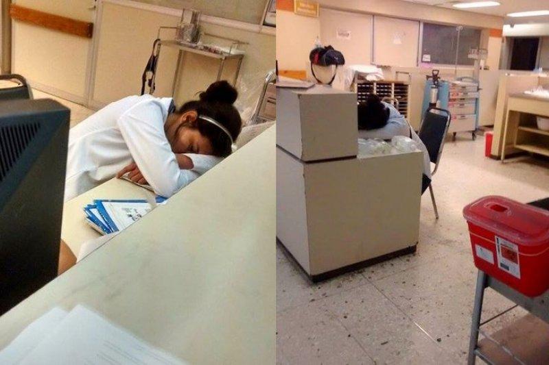 你累了嗎?醫生都累了。(取自Noti-blog)