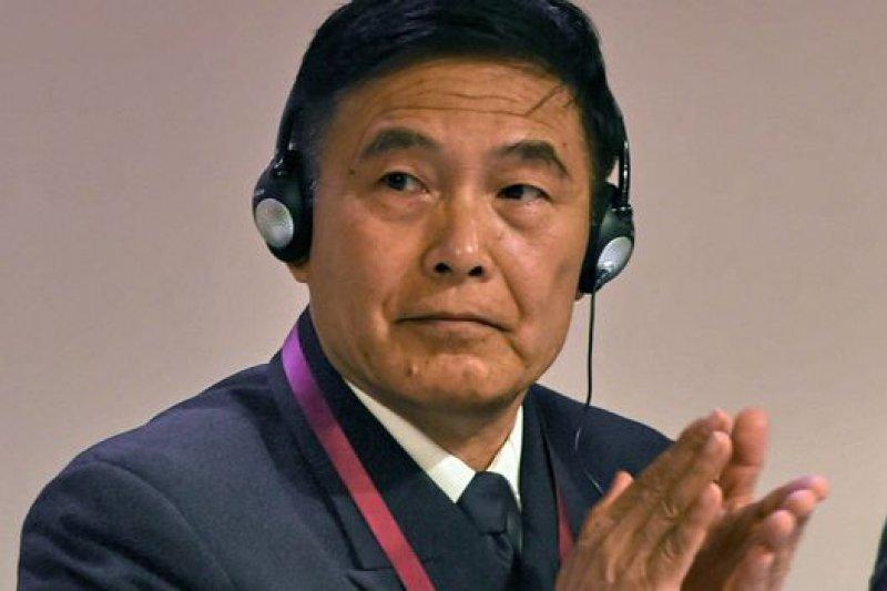 來自歐美的參會者連環炮似地針對中國在南海的行為向孫建國提問。(BBC中文網)
