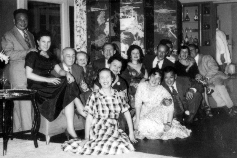 蔣經國和蔣方良曾經經常光臨明星咖啡館。(印刻文學提供)