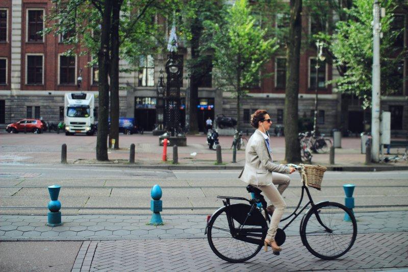 荷蘭的單車文化(圖/flickr@Jackie.lck)