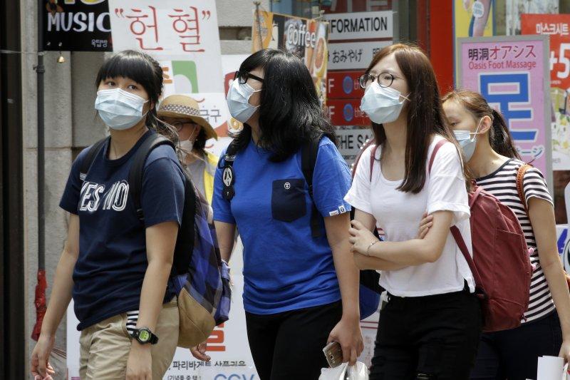 南韓MERS疫情發燒,恐將重創南韓經濟。(美聯社)