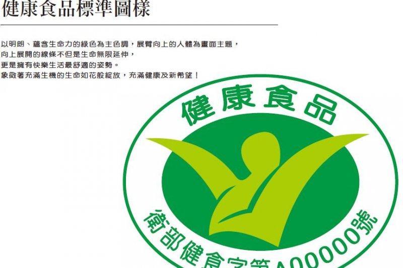 小綠人標章食品仍可能含有過多添加物,希望消費者認清該標章的定義。(取自衛生福利部網站)
