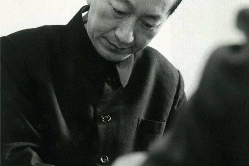 「昭和棋聖」吳清源,圖片來源:吳佳澄提供。