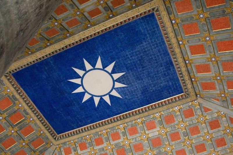 圖為南京中山陵穹頂的青天白日旗(FlickreviewR/維基百科)