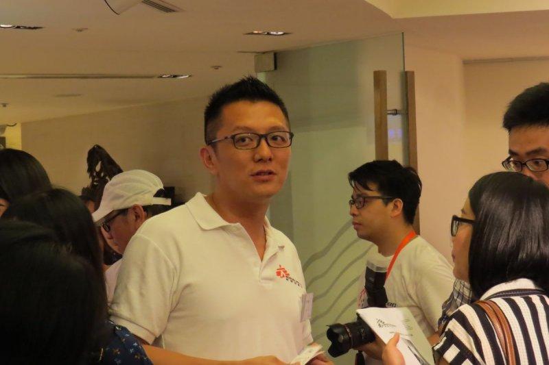 MSF香港辦事處主席劉鎮鯤(林育菱、簡紹琪攝)