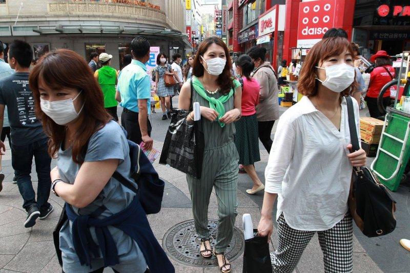 南韓MERS疫情發燒,人心惶惶。