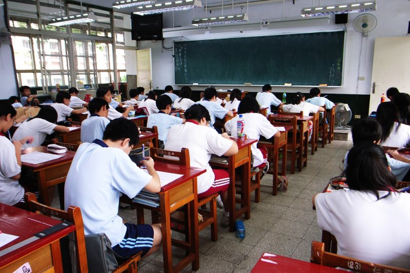 大學學測23日進行國文寫作測驗,作文考題「如果我有一座新冰箱」引起熱議。示意圖。(圖/取自flickr)