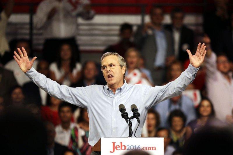 傑布.布希(Jeb Bush)投入2016年美國總統選戰