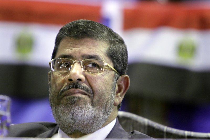 埃及前總統穆爾西。(美聯社)