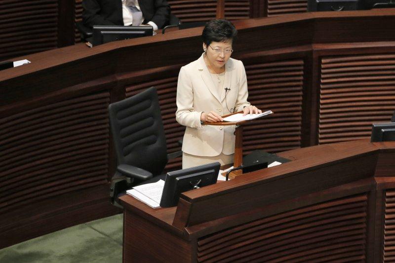 香港政改被否決。