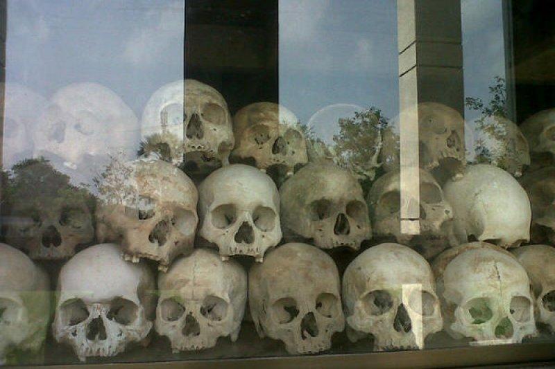 S-21監獄曾為赤柬的恐怖死亡監獄。(取自推特)