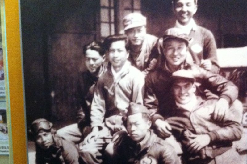 他們是投入對日作戰的中華飛官(芷江飛虎紀念館/翻攝)
