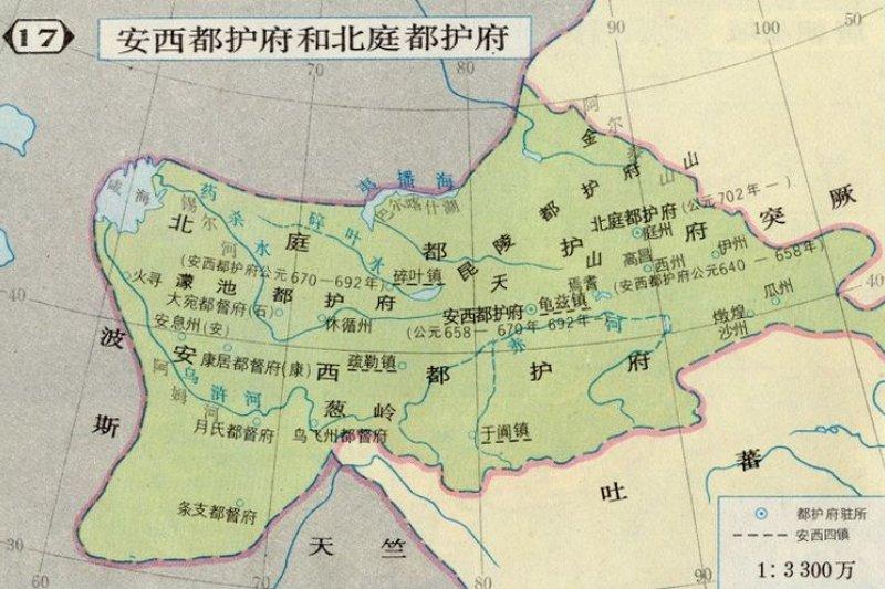 昭武九姓古地圖(中國古代史地圖網)