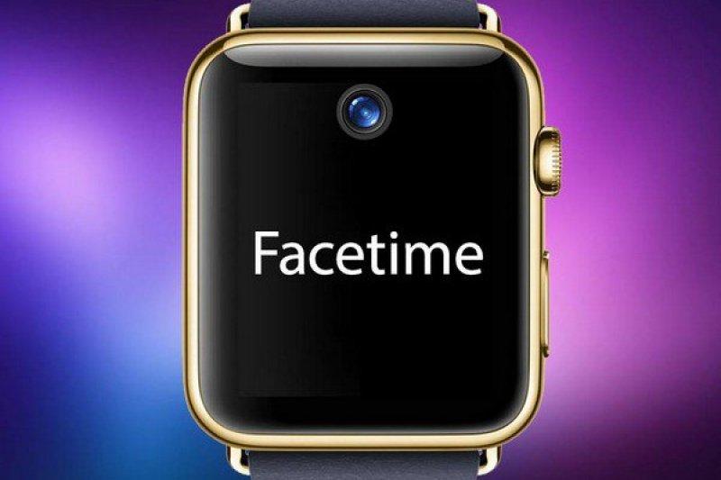 Apple Watch 2傳聞將加上鏡頭,並支援Fcaetime。(取自9to5mac網站)