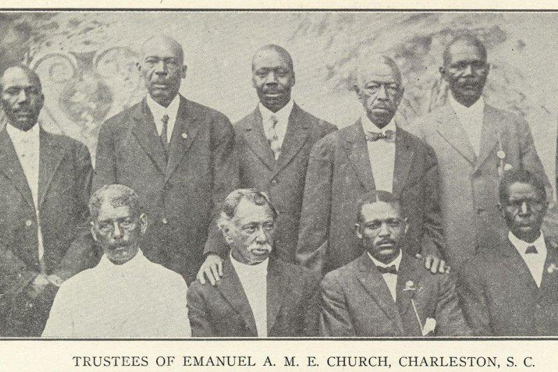 「伊曼紐非洲美以美教會」(Emanuel African Methodist Episcopal Church)