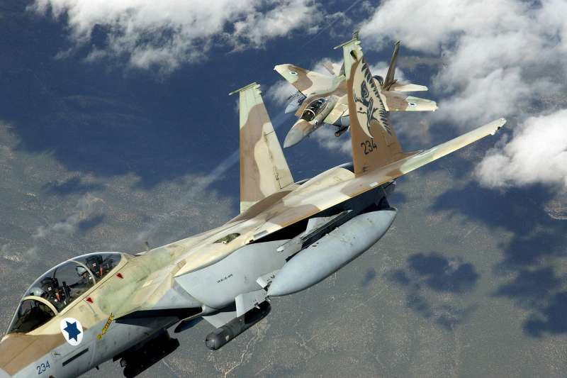 參與紅旗軍演的以色列空軍F-15。(Wikipedia@Public Domain)