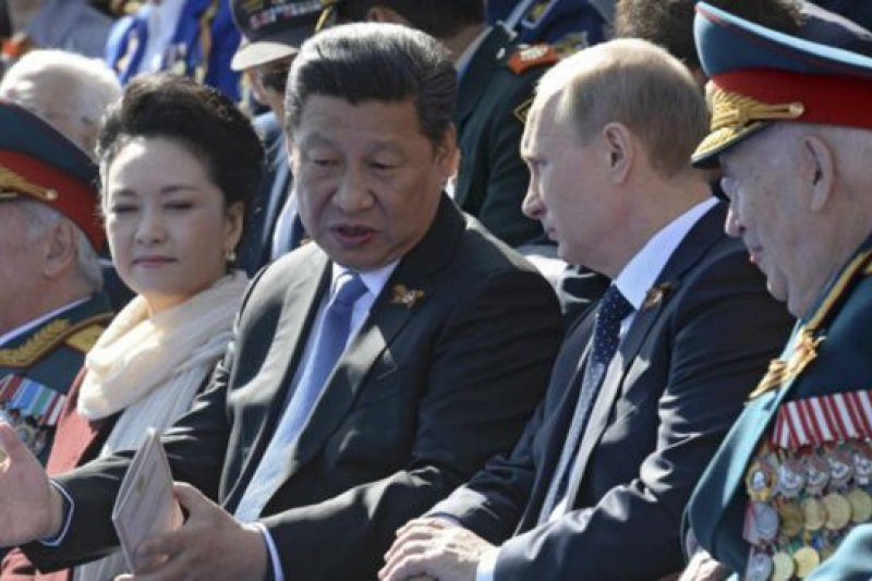 去年俄羅斯總統普京至少與中國國家主席習近平有過5次會見,兩人彼此形容對方為「好朋友」。(BBC中文網)