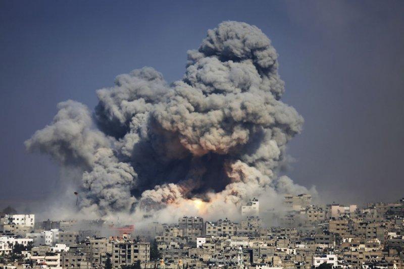 2014年的加薩戰亂(美聯社)