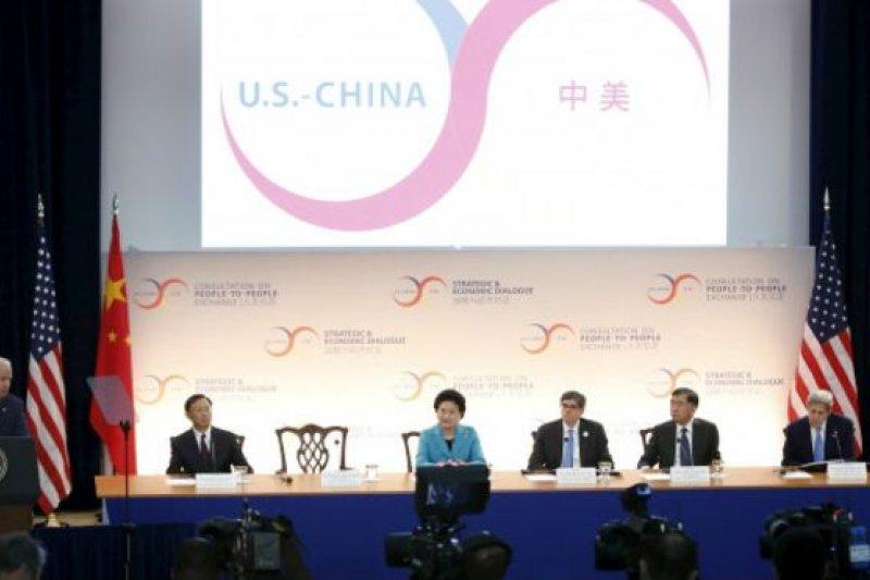 約400名中國官員赴華盛頓參加為期三天的中美第七輪戰略與經濟對話。(BBC中文網)
