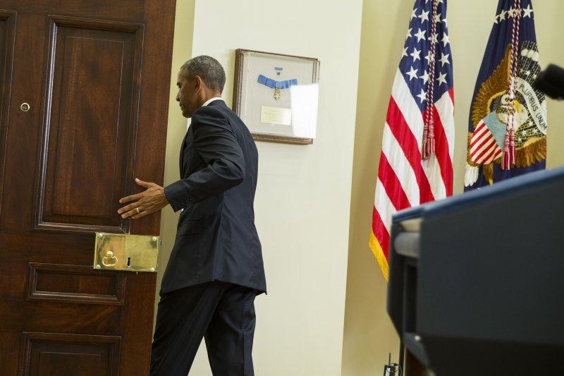 美國總統歐巴馬將於2017年1月卸任。(美聯社)