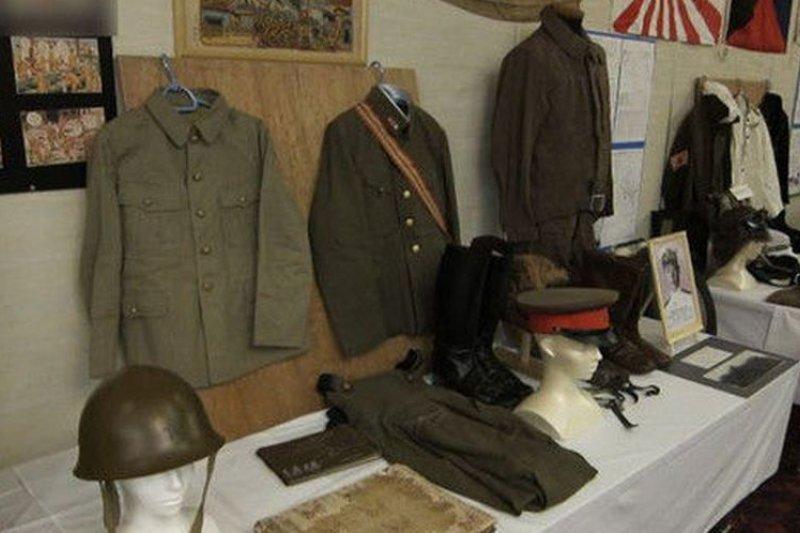 大阪和平館展現戰爭期間物品。