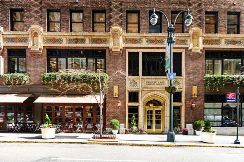 紐約的Library Hotel座落於曼哈頓麥迪遜大道與四十一街之間。