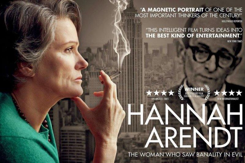 《漢娜鄂蘭;真理無懼》電影宣傳海報。(響應衛福部:吸菸過量有害健康)