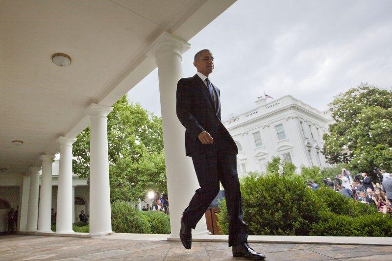 歐巴馬推動LGBT平權之路,歷經10年。(美聯社)