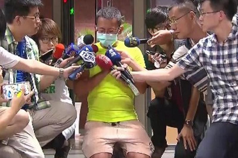 新北市府對彩虹派對業者呂忠吉申請假扣押,假扣押被駁回。(截取自TVBS畫面)