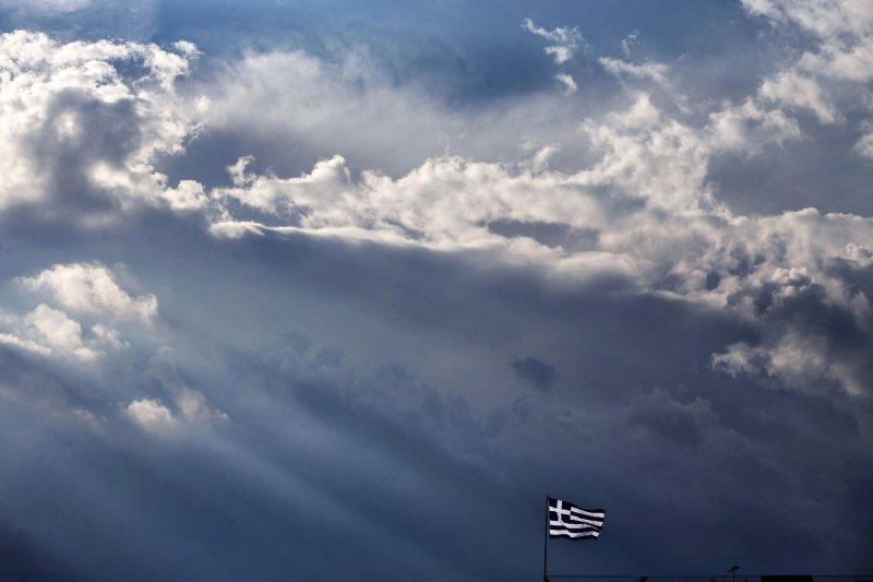山雨欲來,希臘再次處於暴風眼中。(美聯社)