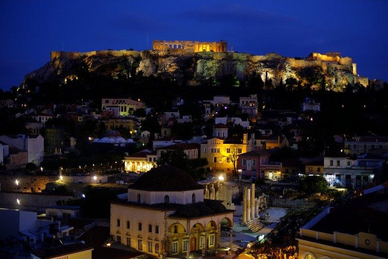 作為西方哲學重要起源的希臘,如今卻成了歐盟的心頭大患。(美聯社)