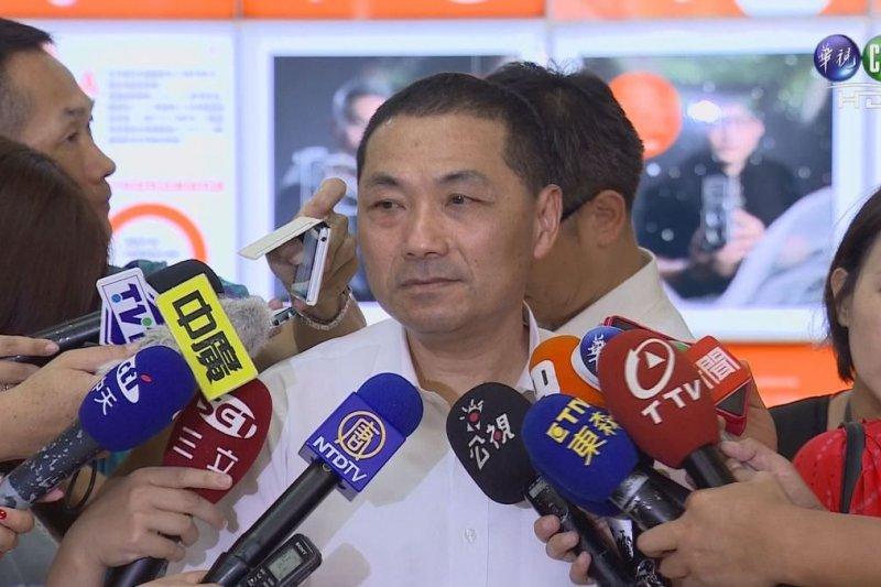 新北市副市長侯友宜(翻攝自電視畫面)