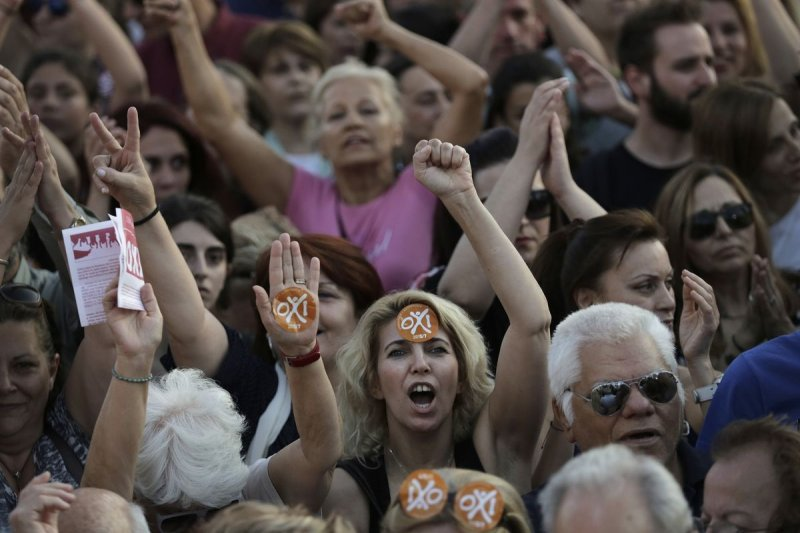 希臘公投在即,反對與贊成呈現拉鋸(美聯社)