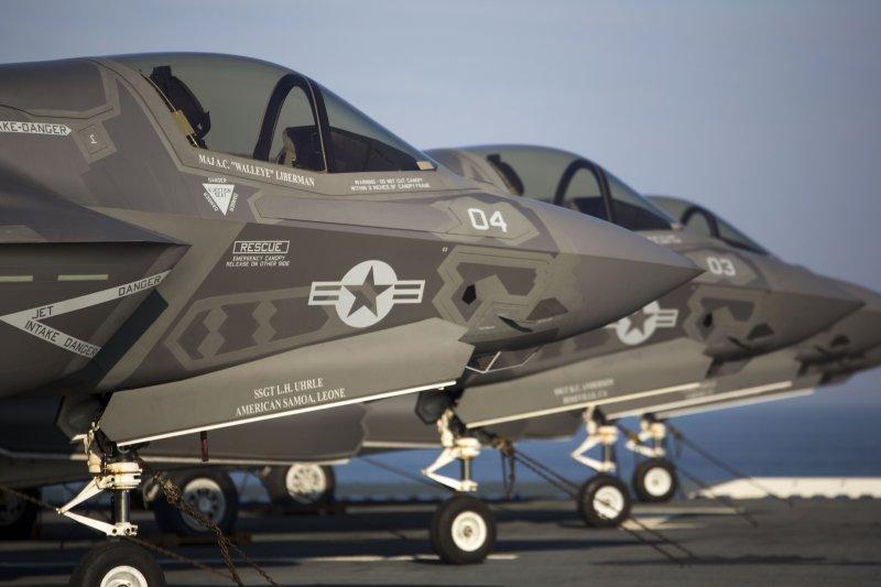 美國最新匿蹤戰機F-35,研發機密恐已被中國掌握。(圖片取自美國海軍官網)