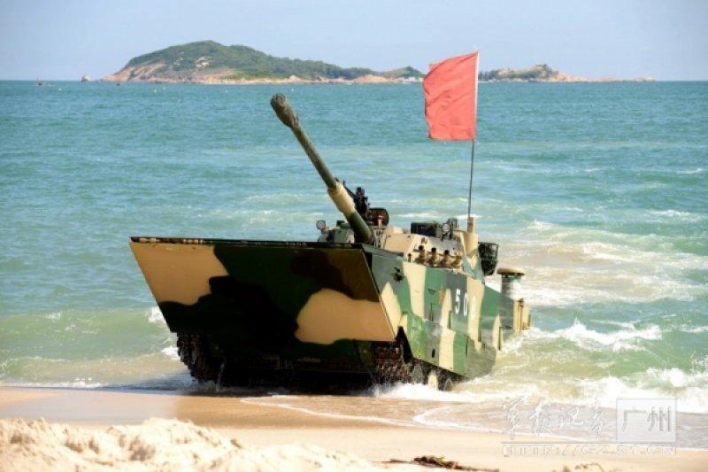 中國近年軍事發展快速,美國曾在軍事報告中提出,中國已產生威脅。(取自中國軍事網)
