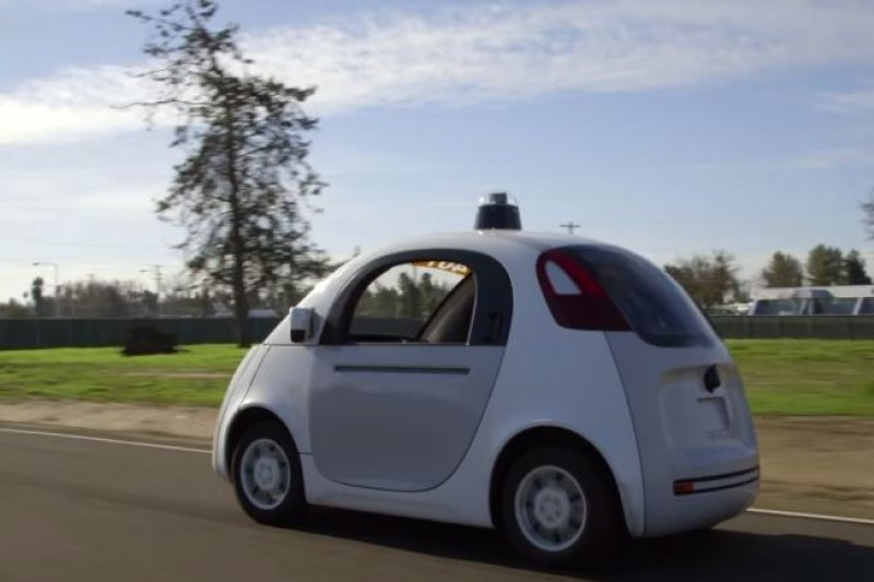 (圖/Google Self-Driving Car Project@youtube)