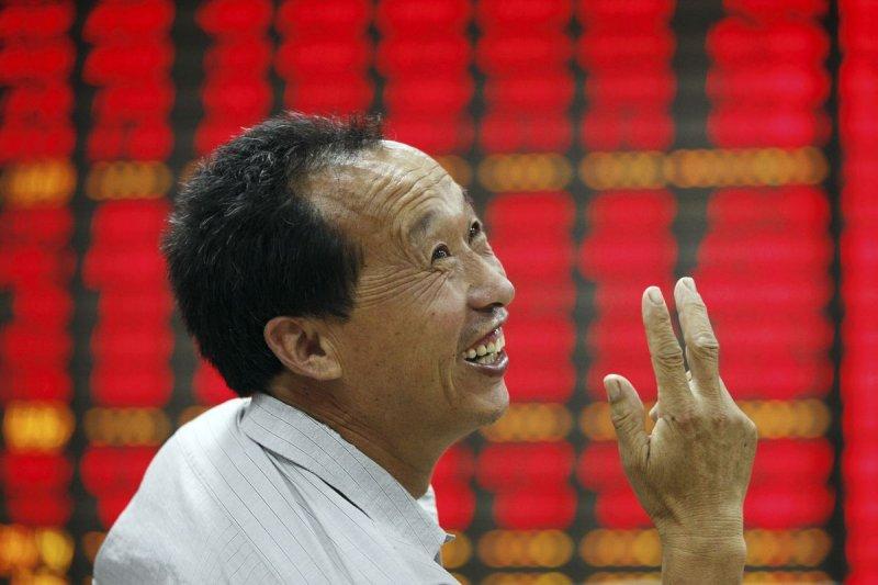 中國A股四利多訊號浮現,未來漲升行情看好。(美聯社)