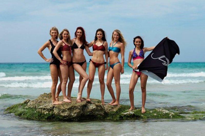 每到夏日,愛美的女性去海邊遊玩的時候都喜歡穿比基尼!(圖/Spinali Design)