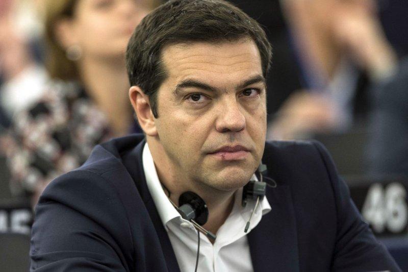 希臘總理齊普拉斯出席歐洲議會(美聯社)