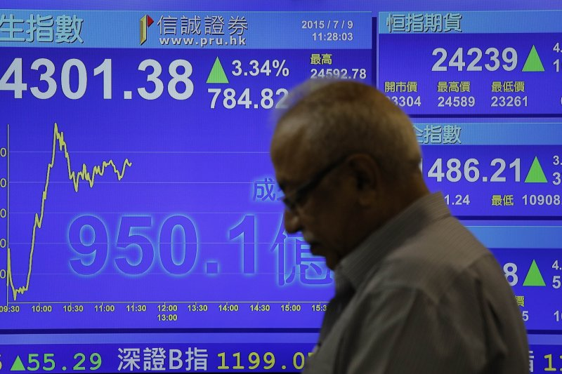 市場參與者越來越擔心中國政府會坐視中國恆大破產,給其股東和債券持有人造成損失。(資料照:美聯社)