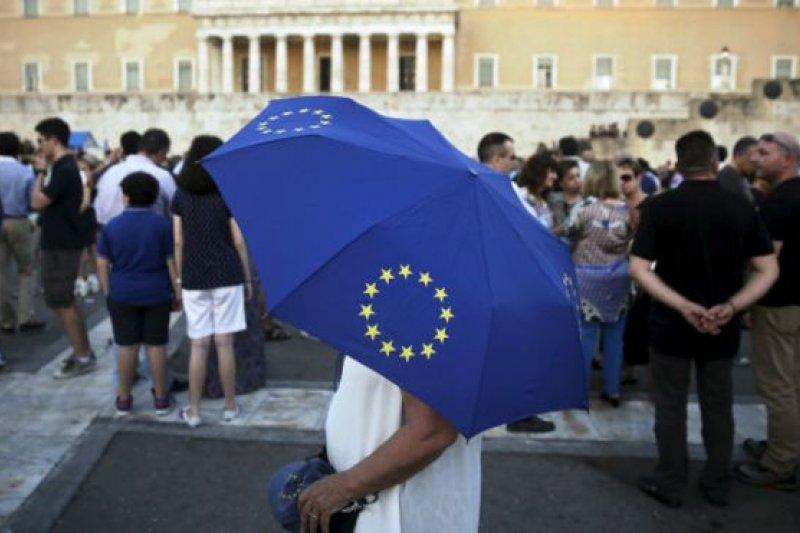歐盟將在12日召開峰會討論希臘新財政援助議案。(BBC中文網)