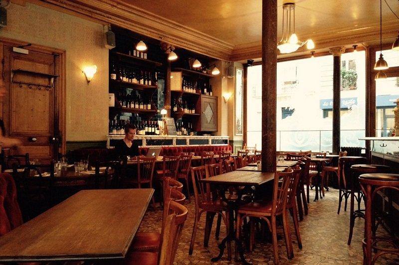 Le Pure Café, Paris。(洪滋敏攝)