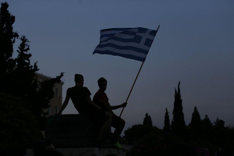 希臘還債能力屢遭質疑,德國放話要希臘離開歐元區。(美聯社)