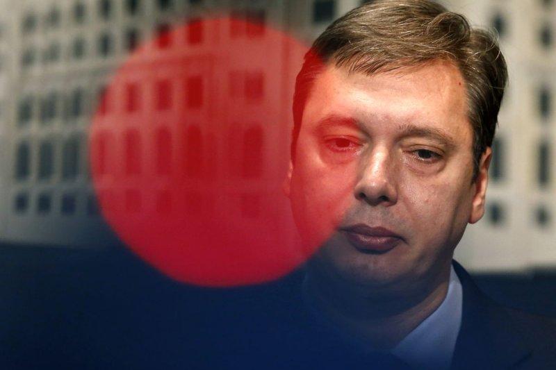 塞爾維亞總理武契奇(Aleksandar Vucic)(美聯社)