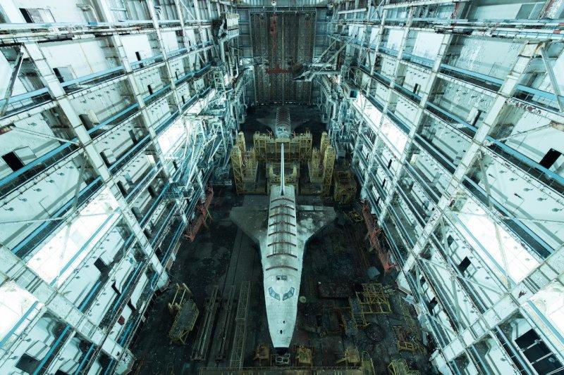 作品《迷航太空》(Lost in space)是蘇聯時期留下的建築。(圖/取自David de Rueda photography臉書)