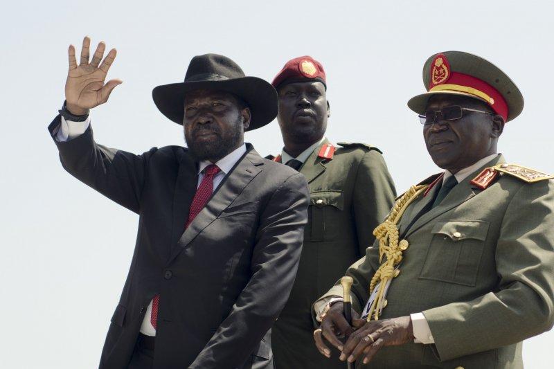 南蘇丹總統基爾(Salva Kiir)。(美聯社)