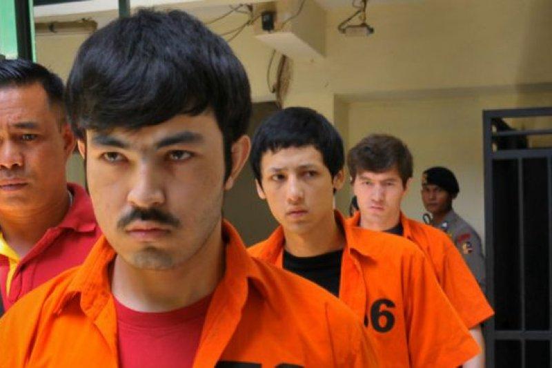 三名維吾爾人去年九月在蘇拉威西島被捕,當時他們正計劃與東印度尼西亞聖戰者組織首領桑托索會面。(BBC中文網)