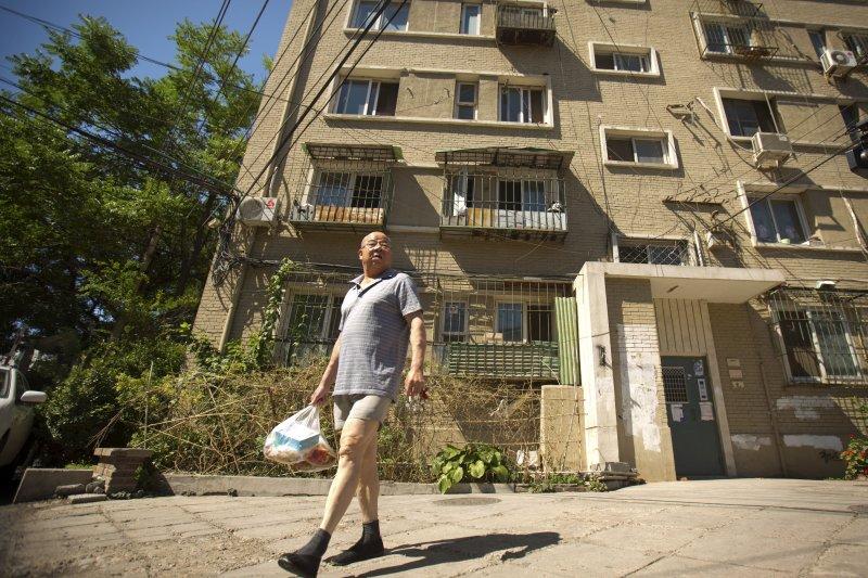 許婷位於中國上海的住處。(美聯社)
