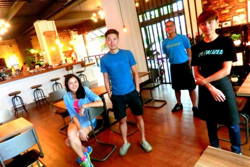 DK CAFE cycling club 咖啡飄香的夢幻單車莊園(圖/欣傳媒)