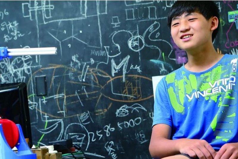 國中生玩3D列印玩到當顧問,他怎麼辦到的?(圖/數位時代)